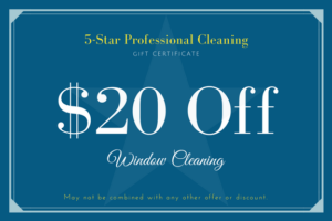 5-Star Pro Window Cleaning Coupon
