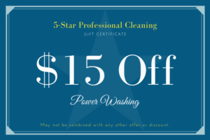 5-Star Pro Power Washing Coupon